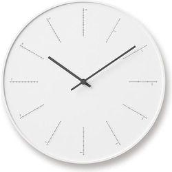 Lemnos Zegar ścienny divide biały