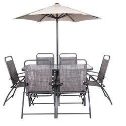 Zestaw mebli ogrodowych z parasolem Verona Loge Garden (5907548112842)