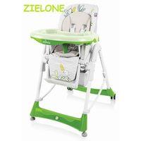 Baby Design Bambi krzesełko do karmienia zielone 04 wysyłka 24h