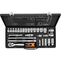 Zestaw kluczy nasadowych NEO 08-677 1/2 i 3/8 cala (28 elementów)
