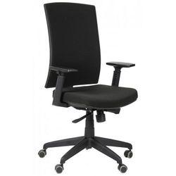 Krzesło biurowe obrotowe KB-8922B/CZARNY, fotel biurowy