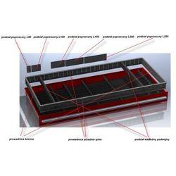 Podziałka H70 do szuflad wózków / szafek warsztatowych, BD8D-181D5
