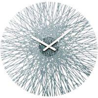 Koziol Zegar ścienny antracytowy silk (4002942188279)
