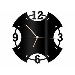 Zegar z pleksi na ścianę Pierścień ze złotymi wskazówkami (5907509936296)