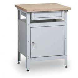 B2b partner Stół warsztatowy hobby ii, 600x600x750 mm, 1 szuflada