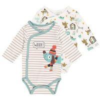 Gelati Kidswear LONGSLEEVE BABY GOOD BOY 2 PACK Body multicolor/bunt (4042494325296)