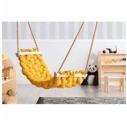 Producent: elior Żółty hamak do pokoju dziecięcego - malis