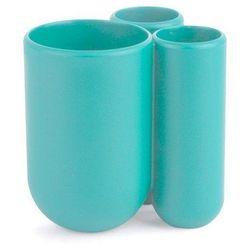 Kubek na szczoteczki do zębów touch niebieski marki Umbra