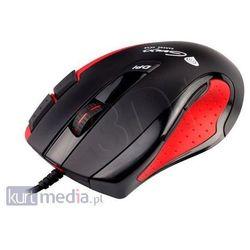NATEC GENESIS MYSZ GX68 BLACK-RED LASER 3400DPI GAMING - produkt z kategorii- Myszy, trackballe i wskaźniki
