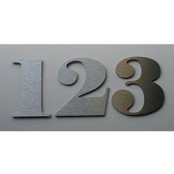 Numer, Numery na Drzwi z aluminium wys. 9 cm - produkt z kategorii- Akcesoria do drzwi