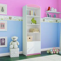 Regał do pokoju dziecięcego, pojedynczy, babydreams, 46 cm, różowy