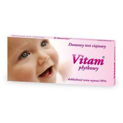 VITAM płytkowy test ciążowy 1szt. (test medyczny)