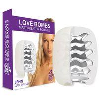 Podręczny masturbator z lubrykantem - Love in the Pocket Love Bombs Jenn