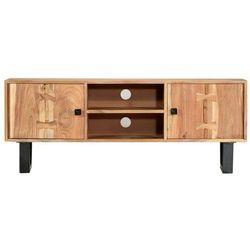 Vidaxl szafka pod tv, 118x30x45 cm, lite drewno akacjowe (8719883853758)