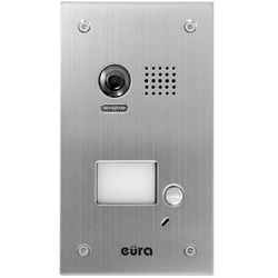 "Kaseta zewnętrzna wideodomofonu ""eura"" vda-76a5 ""2easy"" podtynkowa 1-lokatorska marki Eura-tech"
