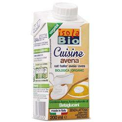 Krem owsiany do gotowania bio 200ml -  od producenta Isola bio