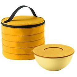 Torba termiczna okrągła z pojemnikiem on the go pomarańczowa marki Guzzini