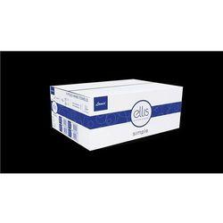 Ręczniki papierowe zz 3000 szt. ellis professional simple biały celuloza marki Lamix