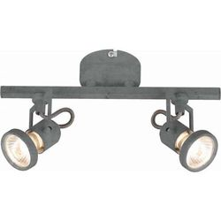 Spot lampa sufitowa concreto 2727232  reflektorowa oprawa ścienna kinkiet regulowany szary marki Britop