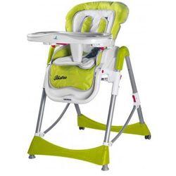 Caretero Bistro rozkładane krzesełko do karmienian green