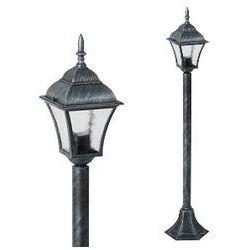 Zewnętrzna LAMPA stojąca TOSCANA 8400 Rabalux IP43 OPRAWA ogrodowa SŁUPEK outdoor srebro antyczne - oferta [e5a42e720761c7fa]