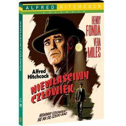 NIEWŁAŚCIWY CZŁOWIEK (DVD) KOLEKCJA ALFREDA HITCHCOCKA - produkt z kategorii- Horrory