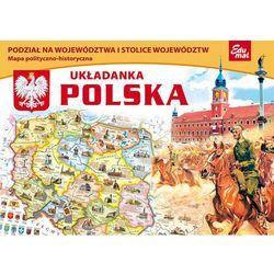 Układanka Polska. Mapa polityczno-historyczna