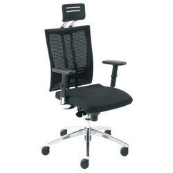 Nowy styl Krzesło obrotowe @-motion hr r15k steel33 chrome - biurowe z regulacją głębokości siedziska i zagłówkiem, fotel biurowy, obrotowy
