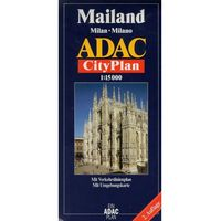 Mailand. Milan. Milano. ADAC CityPlan 1:15 000 (9783826409875)