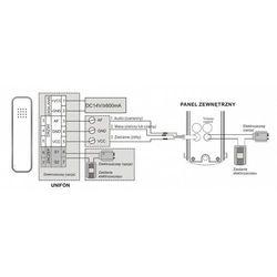 Zestaw domofonowy ORNO DOM-IS-917/B Cors B jednorodzinny + DARMOWY TRANSPORT! (5901752482197)