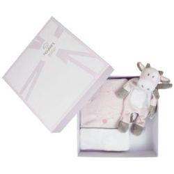 Noukies  des histoires de douceur - pudełko na książeczke zdrowia rose cocon