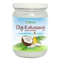 Olej kokosowy nierafinowany tłoczony na zimno extra virgin 900ml MyVita
