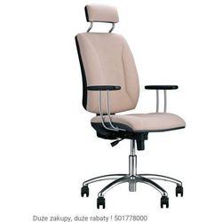 Krzesło obrotowe Quatro HRU GTP25I steel04 chrome z mechanizmem Active-1 Nowy Styl