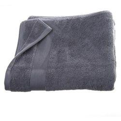 Bawełniany ręcznik kąpielowy - kolor szary 150 x 100 cm marki Atmosphera créateur d'intérieur