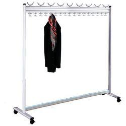 Unbekannt Szeregowy stojak na garderobę, wys. x gł. 1700x400 mm, bez stojaka na parasole,