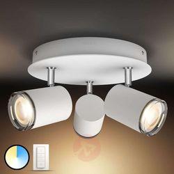 Philips 34362/31/p7 - led łazienkowy kinkiet hue adore led/3x5,5w/230v