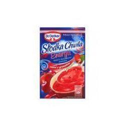 Kisiel z kawałkami owoców o smaku wiśni z granatem słodka chwila energii 32 g , marki Dr. oetker