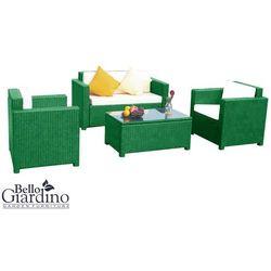 Zestaw mebli ogrodowych BELLO GIARDINO CALMO zielony