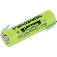 Akumulator specjalny  n-600aacl, nicd, 600 mah, 1.2 v, 1 szt. marki Panasonic