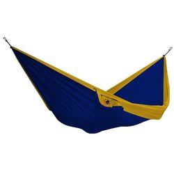Hamak dwuosobowy, żółto-niebieski THD- (1)