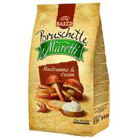 BRUSCHETTE MARETTI 70g Chrupki chlebowe z grzybami w śmietanie | DARMOWA DOSTAWA OD 150 ZŁ!
