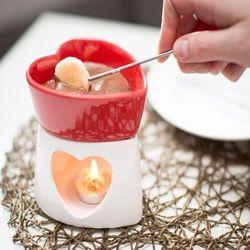 Czekoladowe fondue porcelanowe