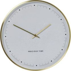 :: zegar ścienny effekt złoty Ø40cm marki Kare design