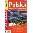 POLSKA. ATLAS SAMOCHODOWY 1 : 300 000 (9788389239563)