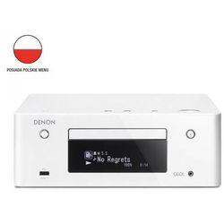 DENON RCDN-9 biały - wieża, zestaw hifi - zmontuj tanio swój zestaw na stronie, towar z kategorii: Zestawy Hi-Fi