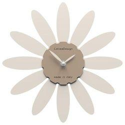 Zegar ścienny daisy  lniany marki Calleadesign