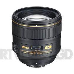 af-s nikkor 85 mm f/1,4g - produkt w magazynie - szybka wysyłka!, marki Nikon