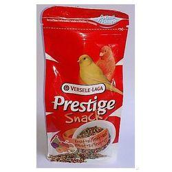Versele-Laga Prestige Snack Canaries 125g przysmak z biszkoptami i owocami dla kanarków (pokarm dla ptaków)