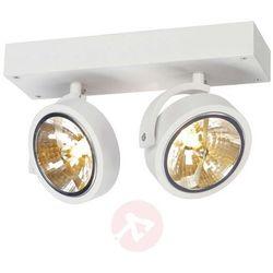 Lampa punktowa SLV 147261;G53, (DxSxW) 30 x 19 x 9 cm, biały (matowy) (4024163127370)