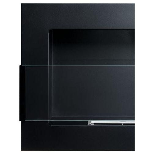 Biokominek 650x400 Czarny z szybą by , marki Globmetal do zakupu w ExitoDesign